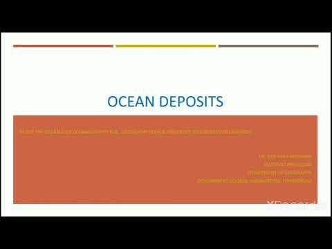 OCEAN DEPOSITS