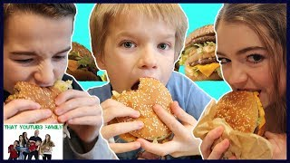 big mac mukbang