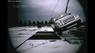 Ford Expedition | 2007 | Dynamic Rollover Crash Test | NHTSA | CrashNet1