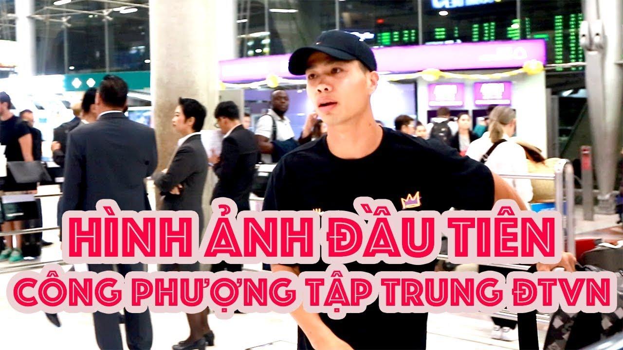 Công Phượng tập trung ĐT Việt Nam vs Thái Lan theo lệnh HLV Park Hang Seo