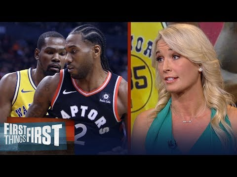 Sarah Kustok on Raptors win over Warriors: It felt like a finals preview | NBA | FIRST THINGS FIRST