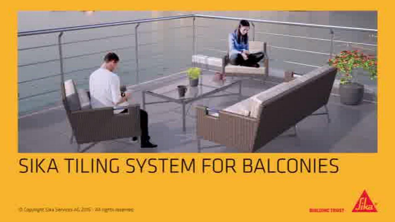 balcony flooring waterproof 6 Steps To Waterproof And Tile A Balcony Walkway Or Terrace