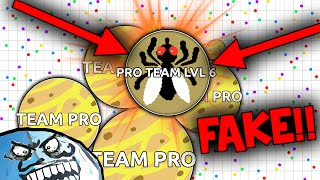 Agar.io - TROLLING TEAMS #3 (Agario Funny Moments)