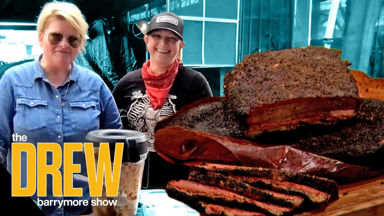 Owners of La Barbecue Teach Drew the Secrets to Making the Mouth-Watering Brisket and Sides