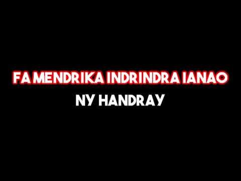 Fara Andriamamonjy - Ampy ho anao ny fahasoavako (KARAOKÉ)