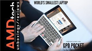GPD Pocket Unboxing & First Look:  World