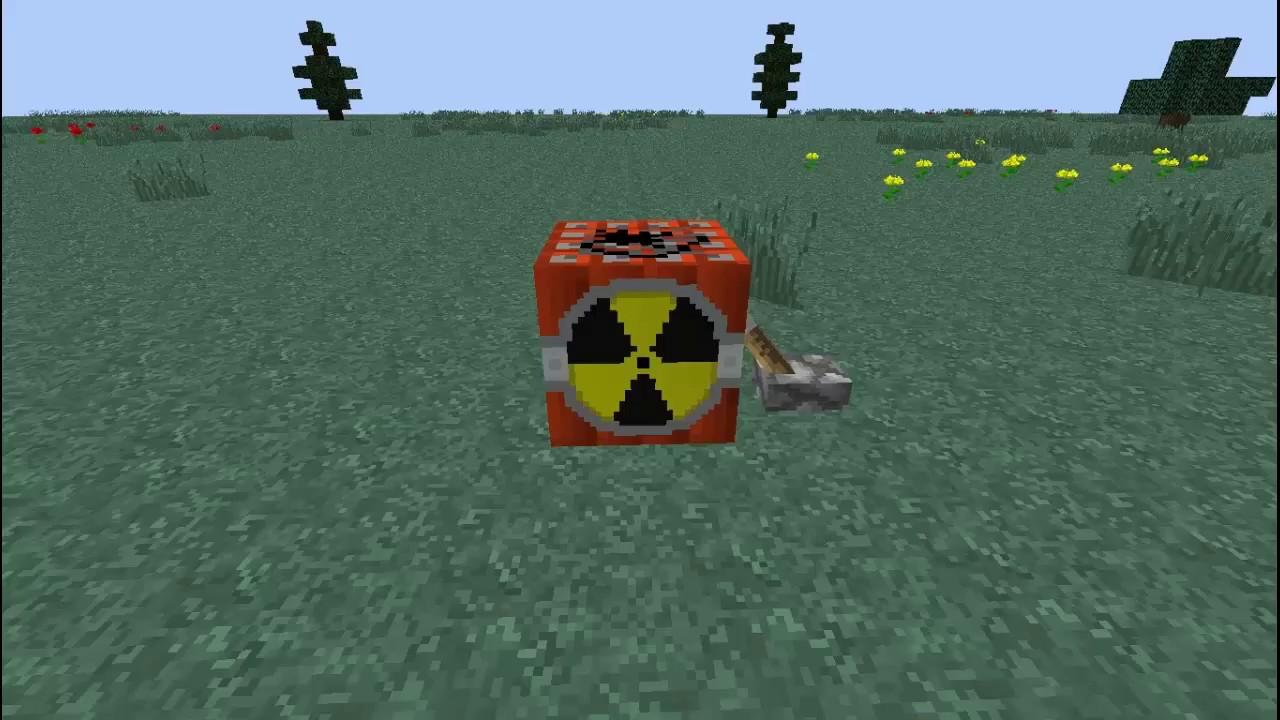 как взорвать ядерную бомбу в майнкрафт #4