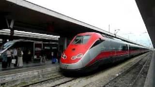 FS ユーロスター・イタリア ローマ・テルミニ駅に到着