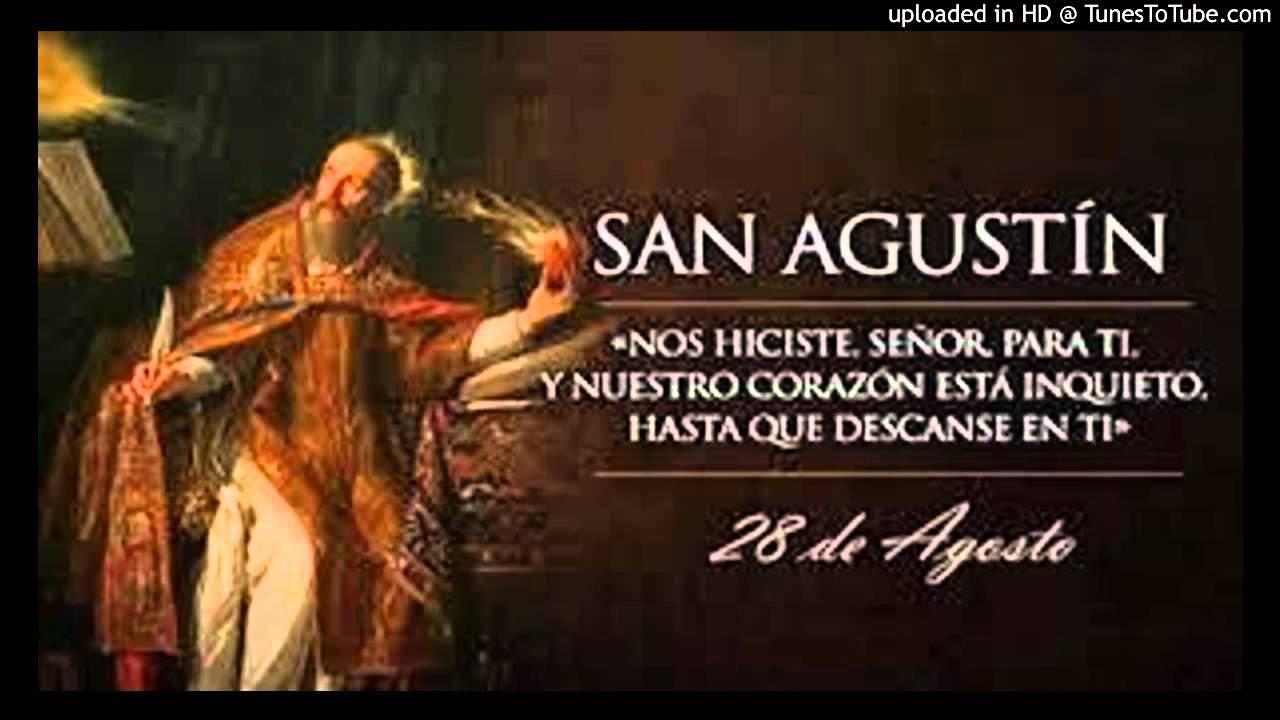 Pildoras De Fe 40 Oracion Y Frase De San Agustin De Hipona Con
