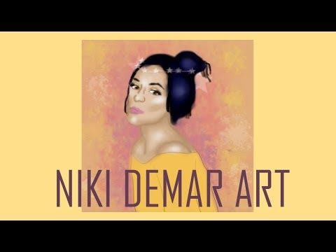 Niki Demar Digital Art | Speed Art