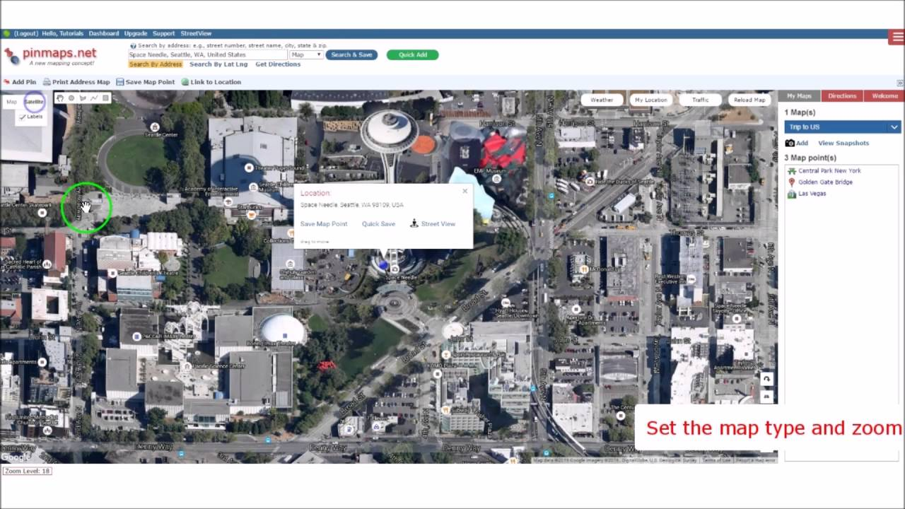 Introduction to Pinmaps net: A custom map creator to pin multiple locations