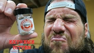 The Most Bitter Substance Known To Man | Bitrex Taste Test (Warning: Vomit) thumbnail