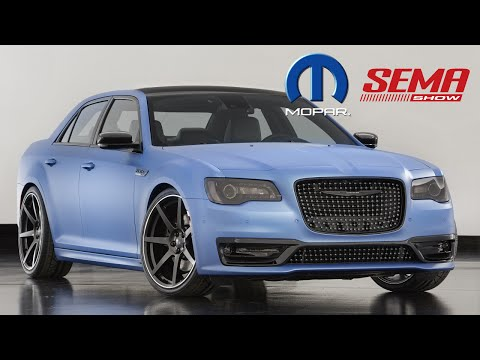 SEMA 2015: Chrysler Brand (Footage)