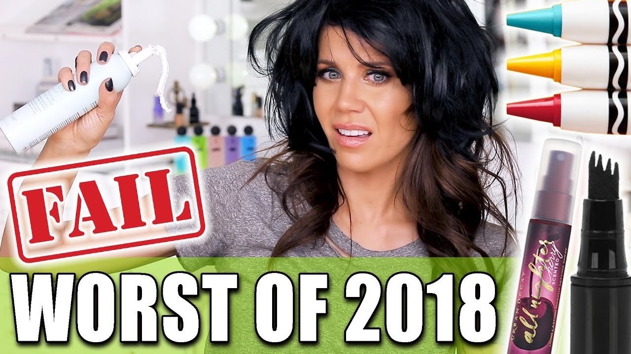 WORST MAKEUP and BEAUTY PRODUCTS of 2018