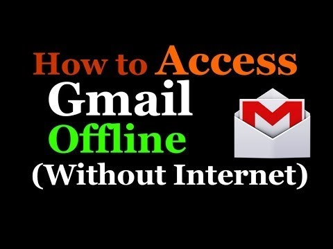 How To Access Gmail Without an Internet Connection