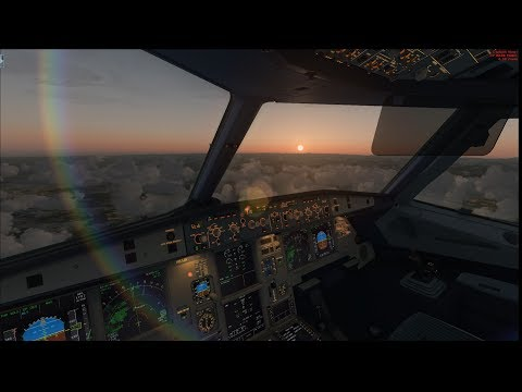 [FSX] Noob tries to fly a Airbus A320   Zürich to München