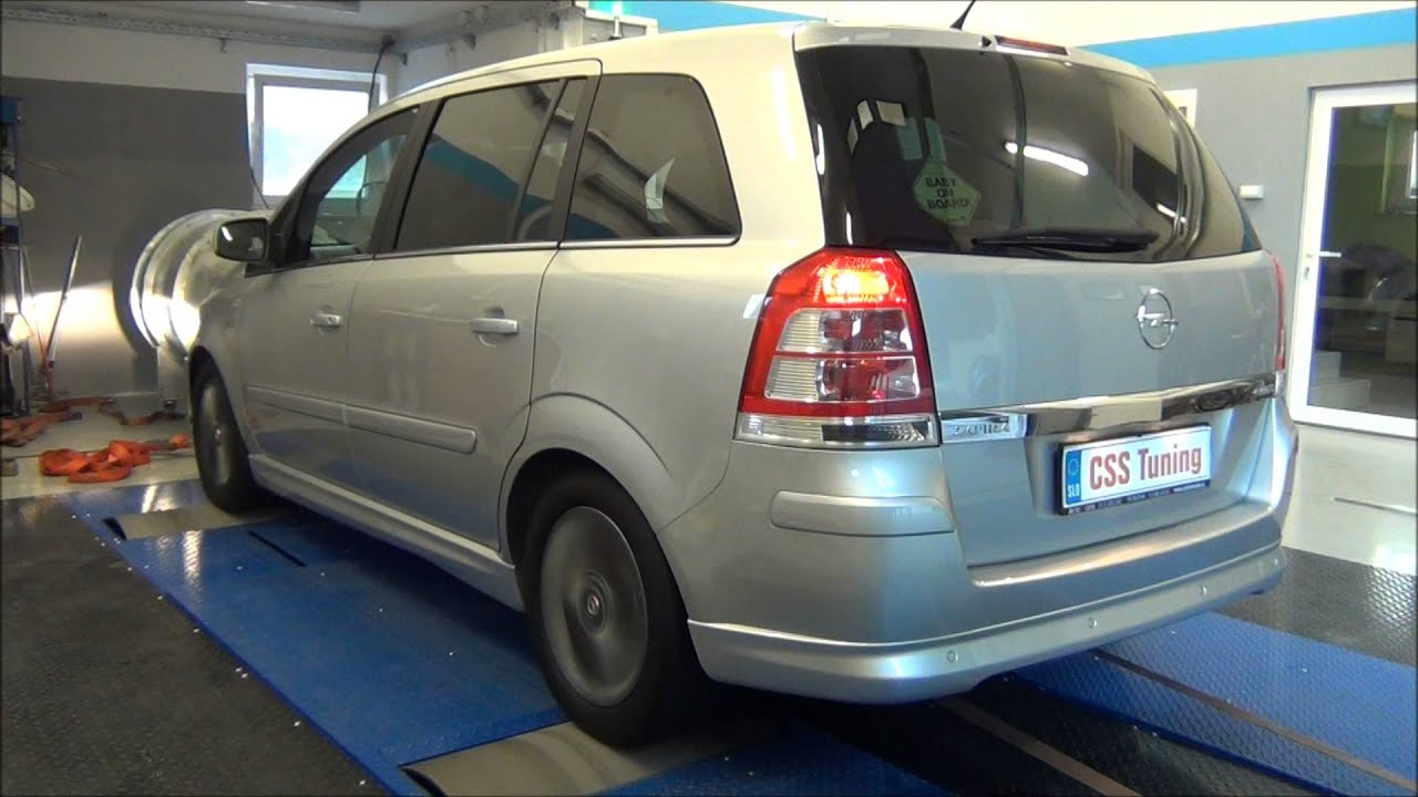 css performance opel zafira 1 7 cdti 125 hp youtube. Black Bedroom Furniture Sets. Home Design Ideas