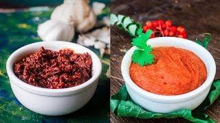 Rajasthani Lehsun Ki Chutney | Marwari Lasan Ki Chutney | Famous Garlic And Red Chilli Dip Recipe
