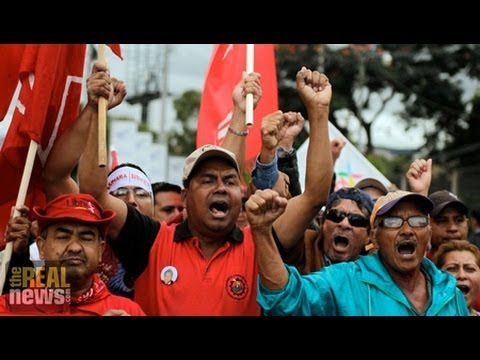 """Thousands in Honduras Decry """"Fraudulent"""" Election and Call for Recount"""