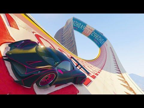 SUPER ACROBACIA GIGANTE! - CARRERA GTA V ONLINE - GTA 5 ONLINE