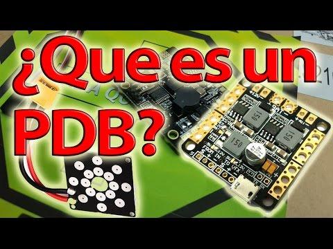 Que son las PDB o tarjetas de distribucion DRONES 101 Cap. 9 | DRONEPEDIA