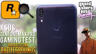PUBG On Asus ZenFone Max Pro M1 [EXTREME GAMING TEST]