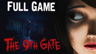 The 9th Gate Full game & Ending Playthrough Gameplay (Steam horror Game)