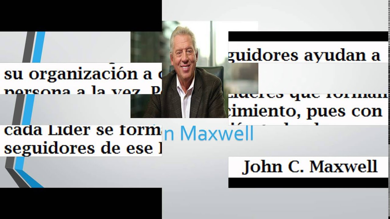 Frases De John Maxwell