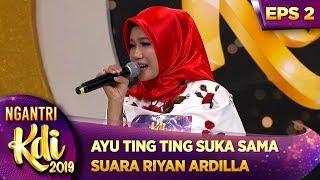 Download lagu Ayu Ting Ting Suka Sama Suara Riyan Ardilla Lolos Ga Ya Kira Kira Ngantri KDI 2019