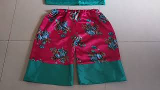 night short dress cutting and stitching | night wear dress ghar pe kaise banaye | night wear shorts