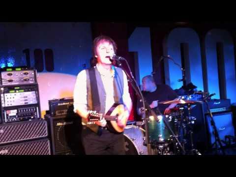 Paul McCartney @ 100 Club London 12/17/10 HD