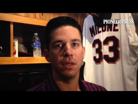 Video: Tommy Milone on #MNTwins attacking Gomes and most #Indians with curveballs in this series.
