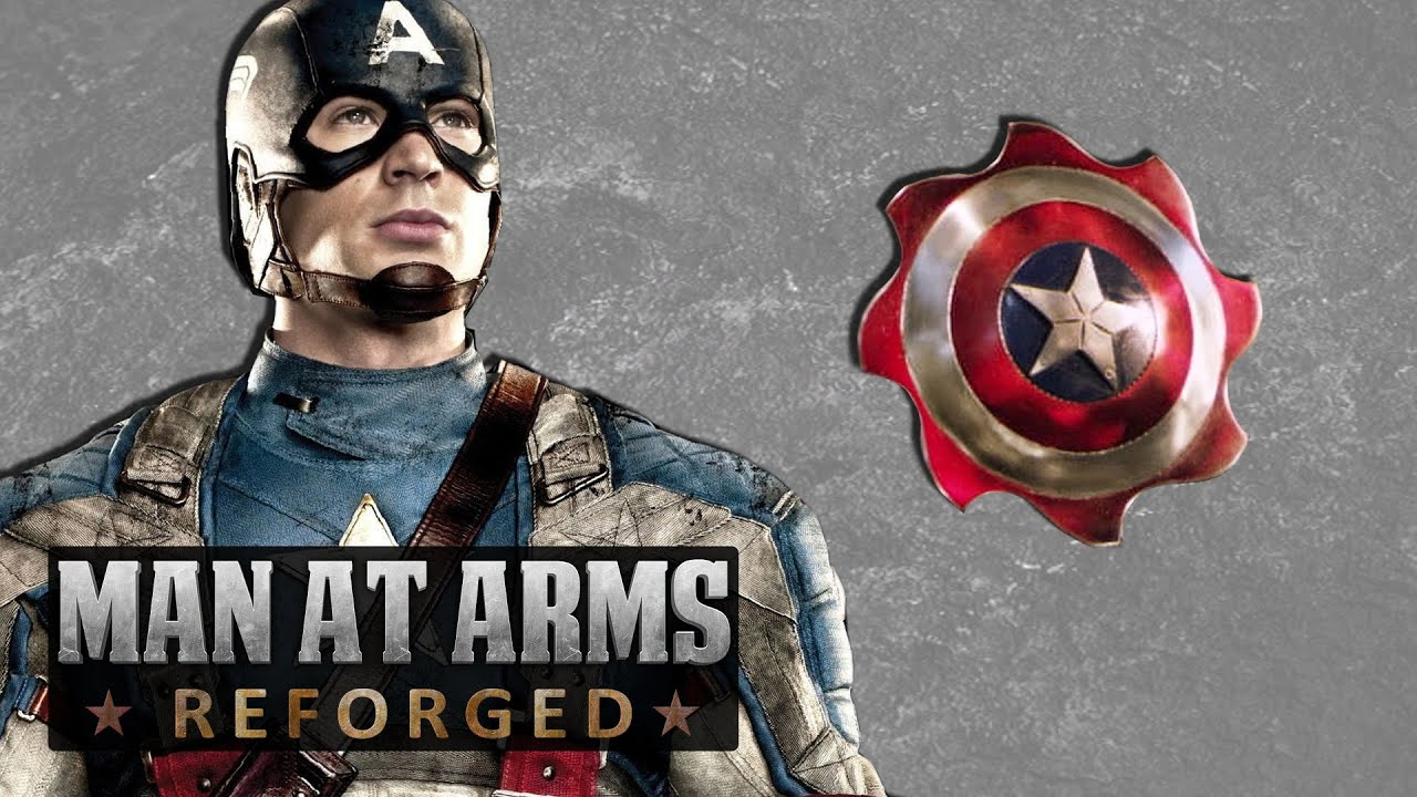 Captain America S Throwing Shields Man At Arms Reforged Youtube