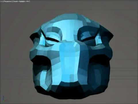 Alien Head Pepakura Files For Mac - livinar