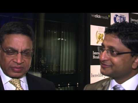 Ranganath Budumooru, general manager, Holiday Inn Express, Ahmedabad, India, at World Travel Awards