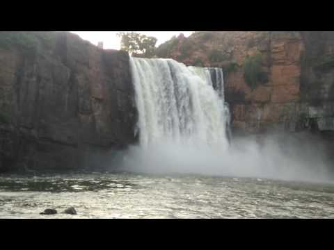 Gokak water falls new road