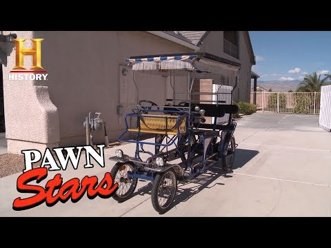 Pawn Stars: Solar-Powered Bicycle | History