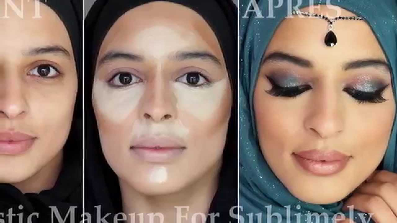 Connu Maquillage Libanais et Contouring - YouTube FL12