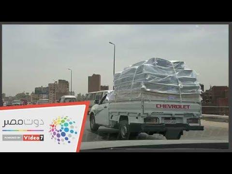 اليوم السابع :بالتزامن مع ارتفاع درجات الحرارة .. شوارع مصر رايقة