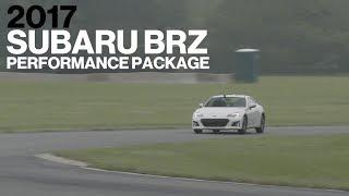 Subaru BRZ w/ Performance Pack Hot Lap at VIR   Lightning Lap 2017   Car and Driver