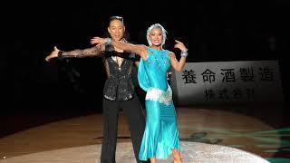 Yumiya Kubota and Natsumi Tokuno (Hokkaido), winners in the PD Lati...
