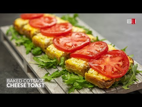 Baked Cottage Cheese Toast | Food Channel L