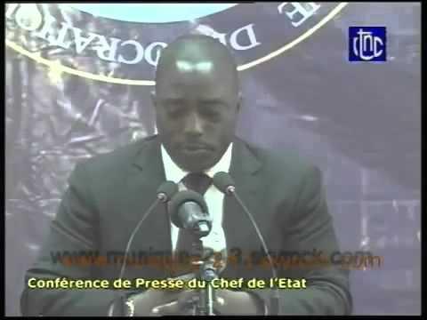Joseph Kabila interview sur son depart apres l'expiration son mandat en 2016