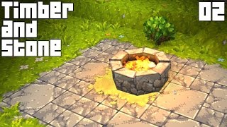 """Timber And Stone Gameplay Part 2 - """"sweet New Textures!!!""""(1.63 Walkthrough)"""