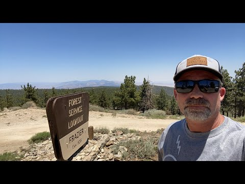 LIVE: Frazier Mountain Summit in Los Padres National Forest