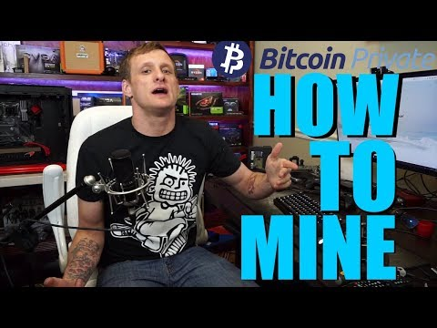 How And Why To Mine Bitcoin Private Coin $BTCP |Nvidia|