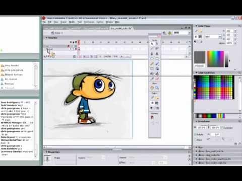 Part 1: Character Design in Adobe Flash CS6