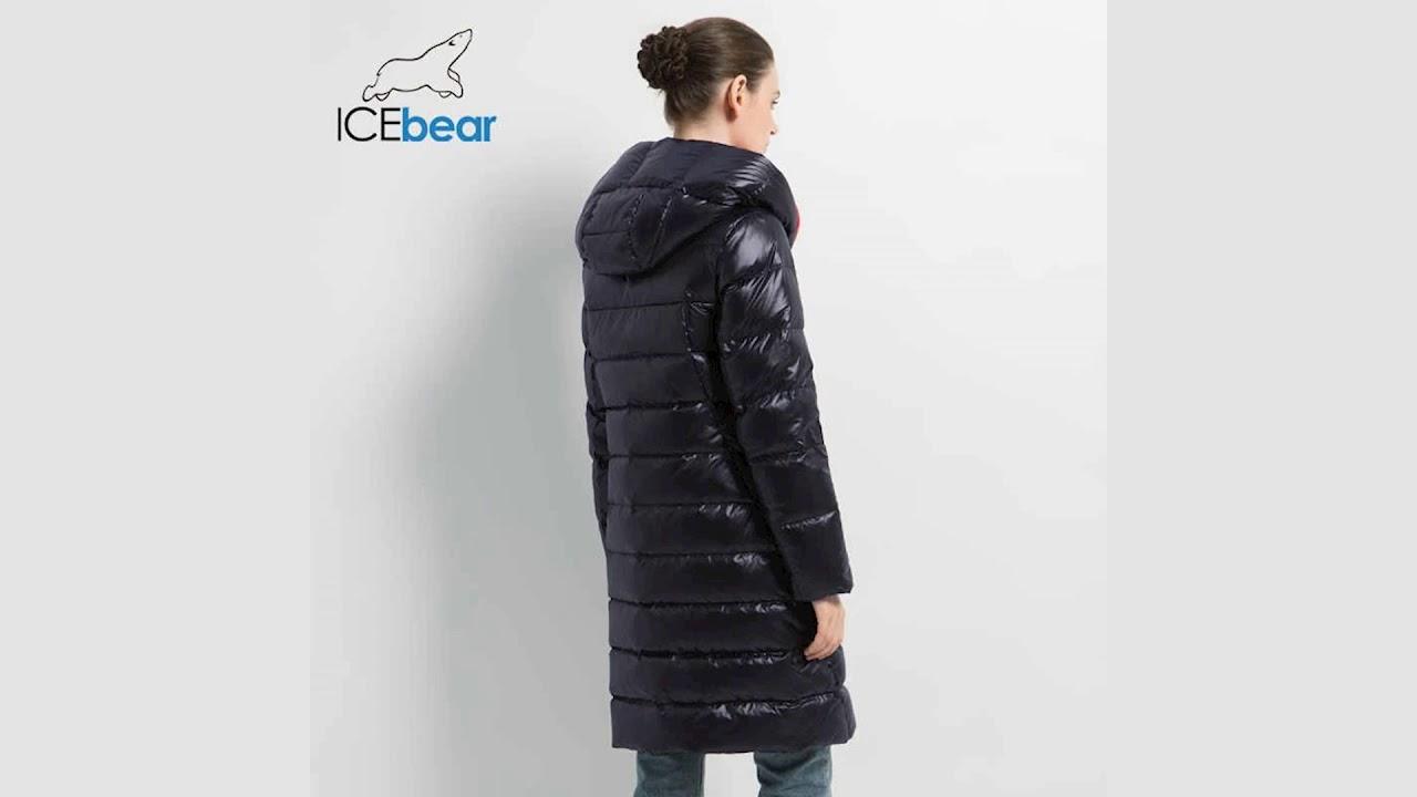 ICEbear GWD19505I женская зимняя куртка,пальто,парка