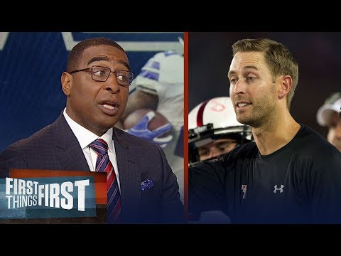 Cris Carter supports the Arizona Cardinals hiring Kliff Kingsbury | NFL | FIRST THINGS FIRST