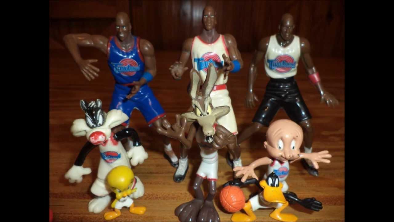Stop Motion Michael Jordan Y Looney Tunes Space Jam Youtube